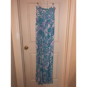 Lilly Pulitzer empire waist XS maxi dress